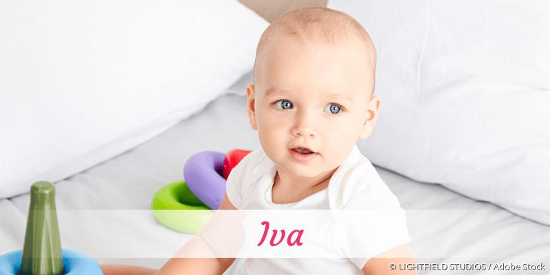 Name Iva als Bild