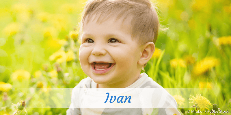 Name Ivan als Bild