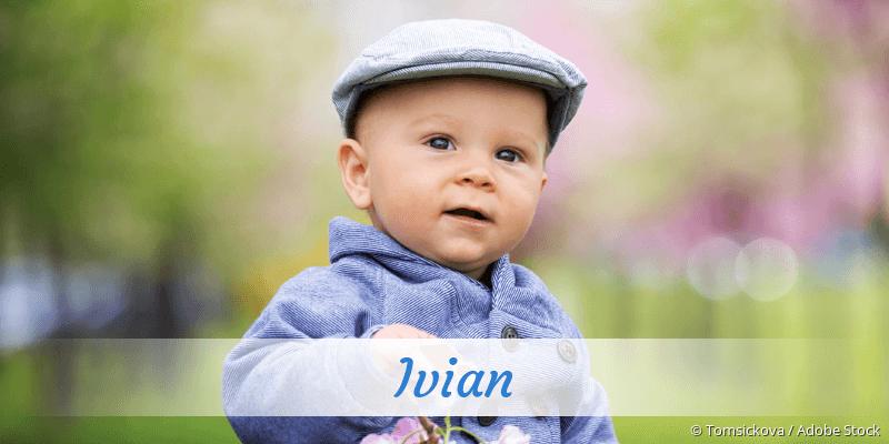 Name Ivian als Bild