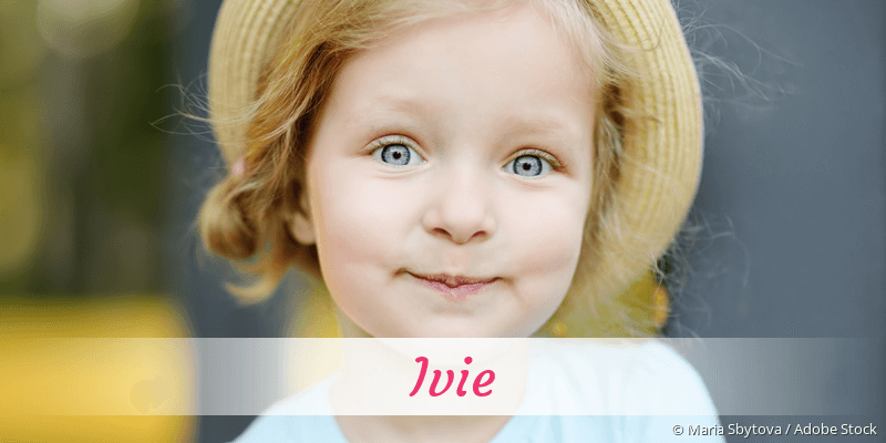 Name Ivie als Bild