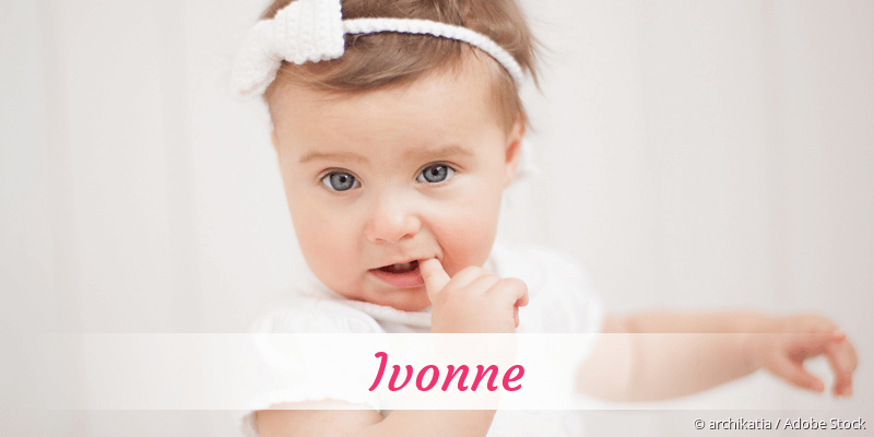 Name Ivonne als Bild