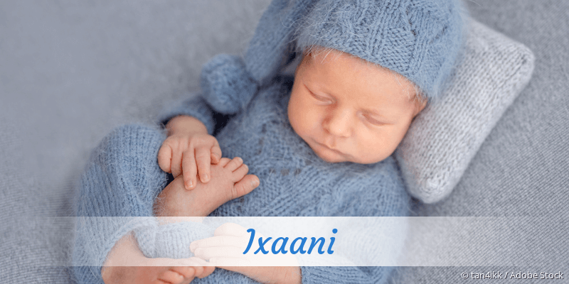 Name Ixaani als Bild