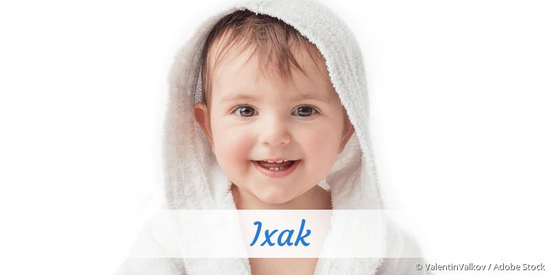 Name Ixak als Bild