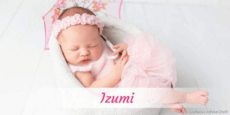 Name Izumi als Bild