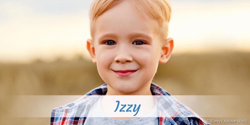 Name Izzy als Bild
