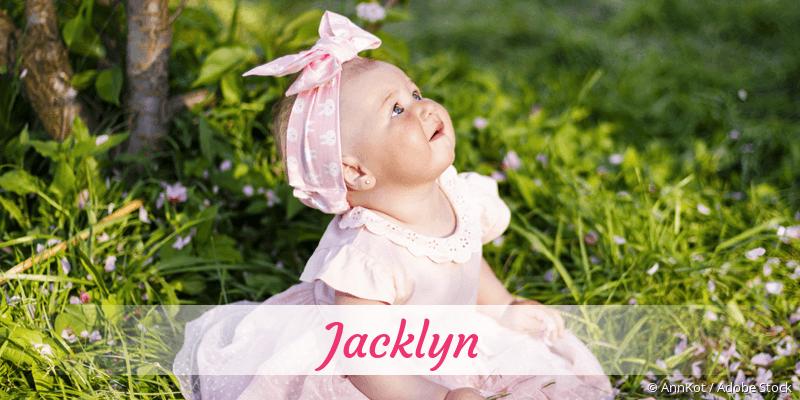 Name Jacklyn als Bild
