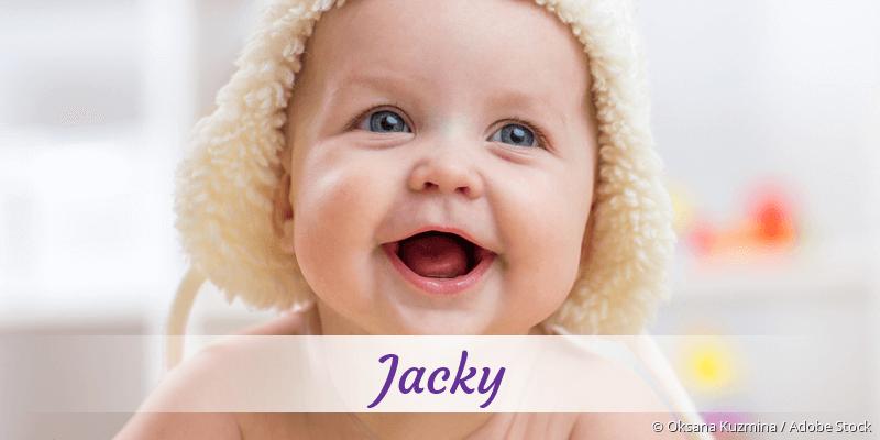 Name Jacky als Bild