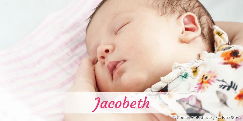 Name Jacobeth als Bild