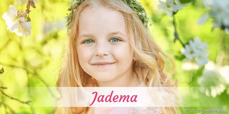 Name Jadema als Bild