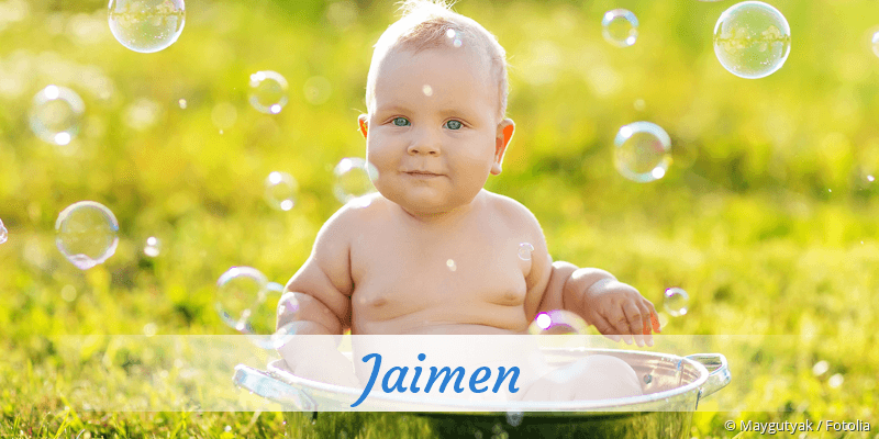 Name Jaimen als Bild