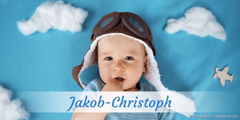 Name Jakob-Christoph als Bild