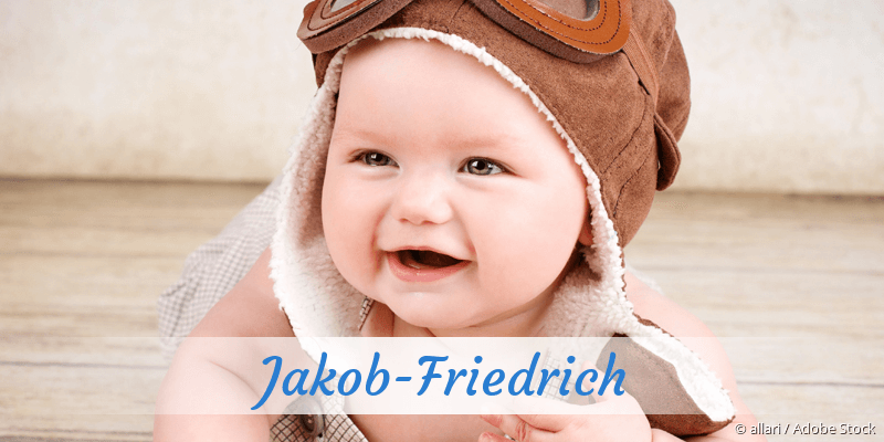Name Jakob-Friedrich als Bild