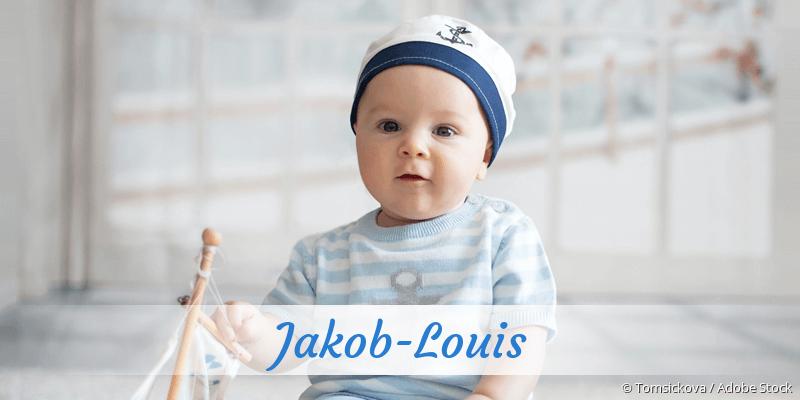 Name Jakob-Louis als Bild