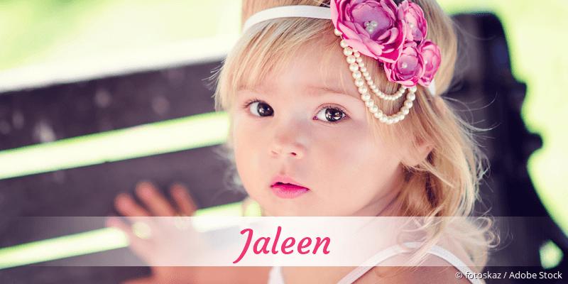 Name Jaleen als Bild