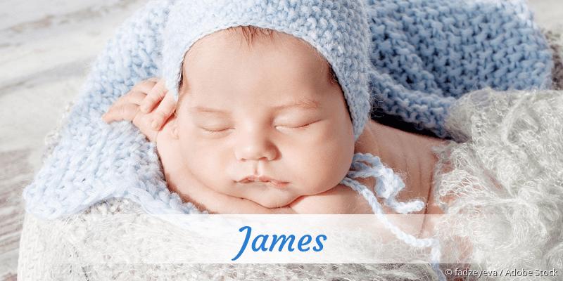 Name James als Bild