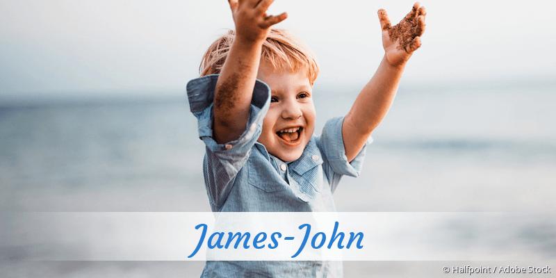 Name James-John als Bild