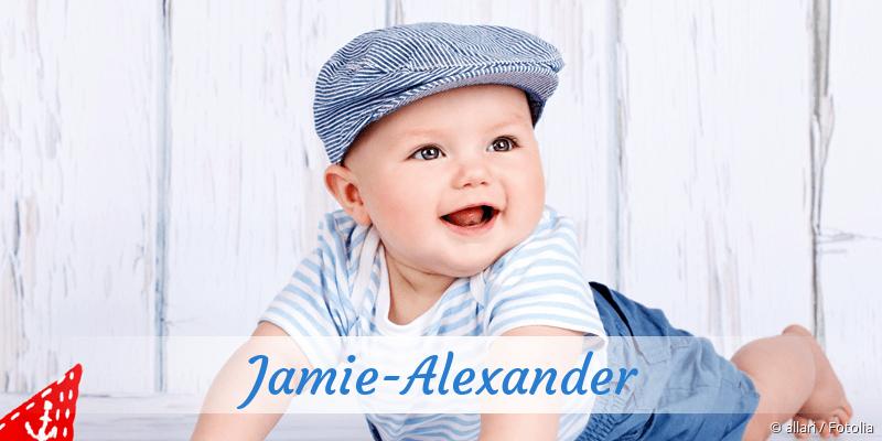 Name Jamie-Alexander als Bild