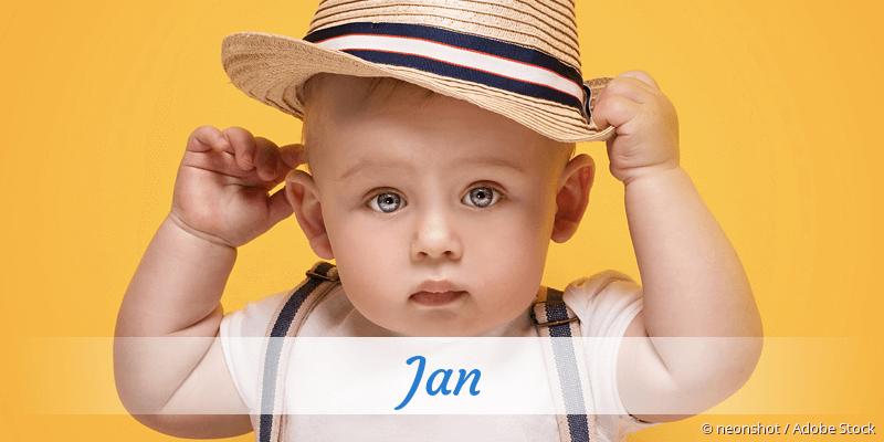 Name Jan als Bild