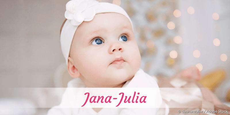 Name Jana-Julia als Bild