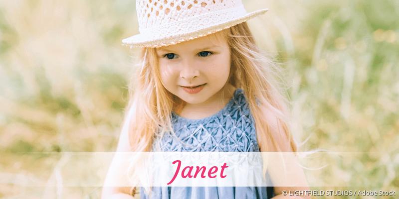 Name Janet als Bild