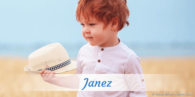 Name Janez als Bild