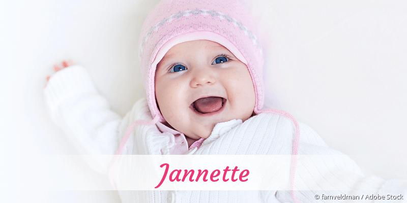 Name Jannette als Bild