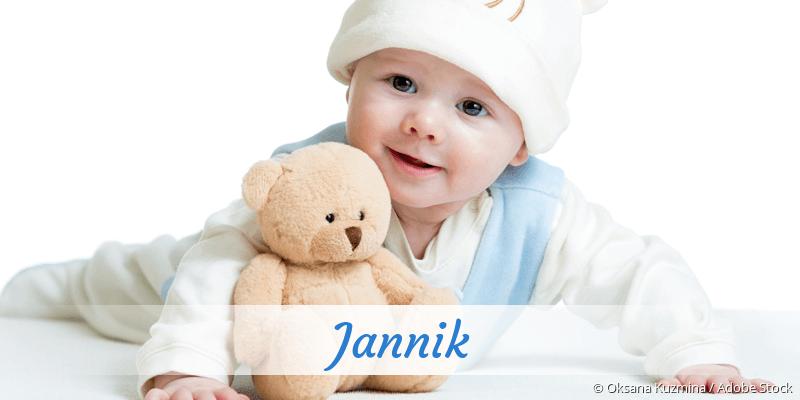 Name Jannik als Bild
