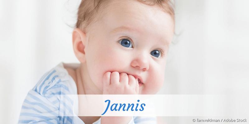 Name Jannis als Bild