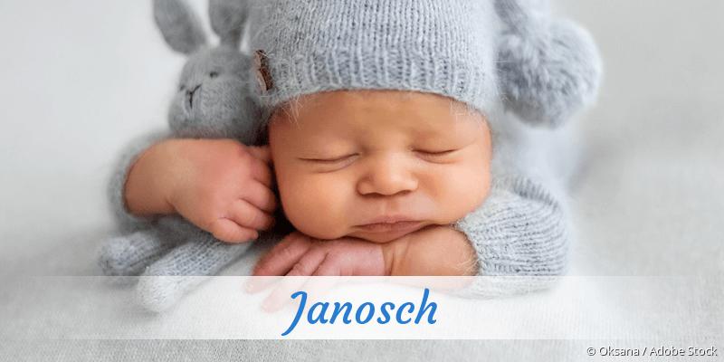 Name Janosch als Bild