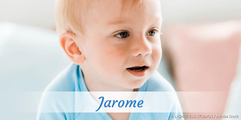 Name Jarome als Bild