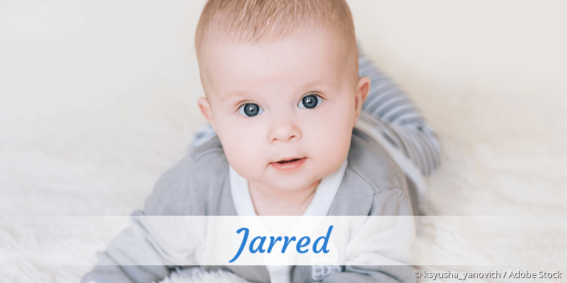 Name Jarred als Bild