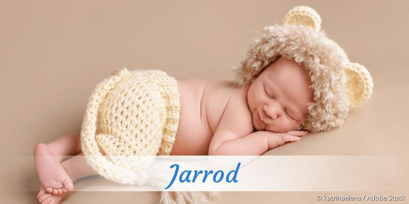 Name Jarrod als Bild