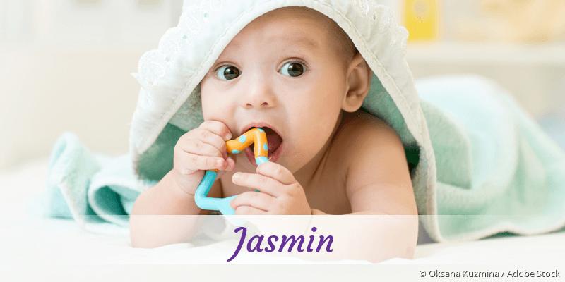 Name Jasmin als Bild