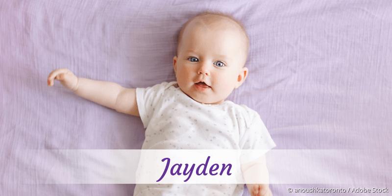 Name Jayden als Bild