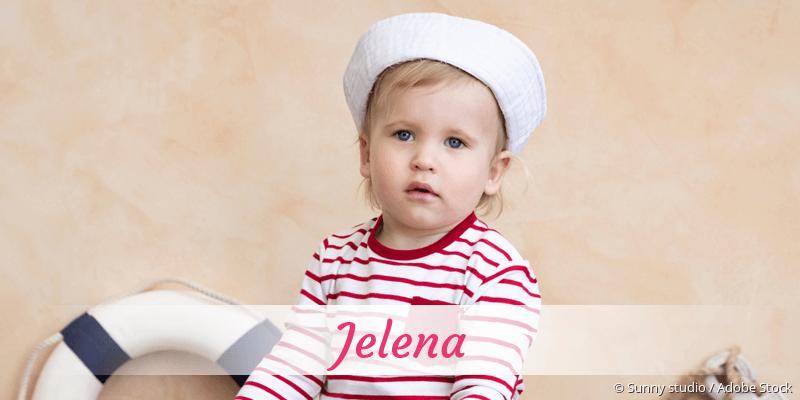 Name Jelena als Bild