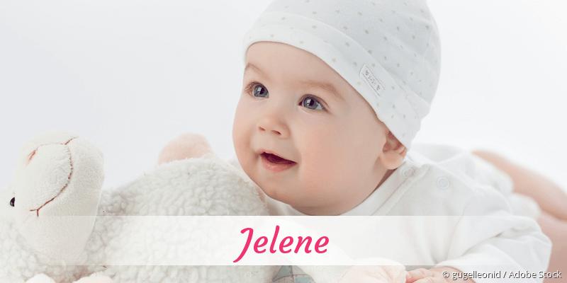 Name Jelene als Bild
