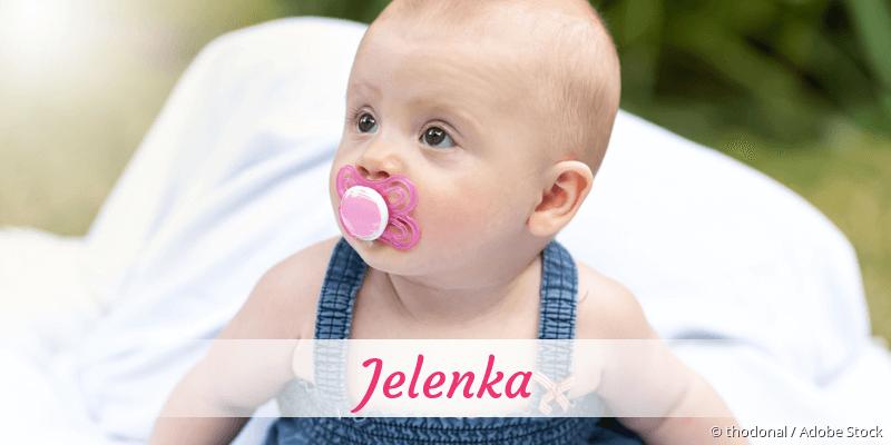 Name Jelenka als Bild