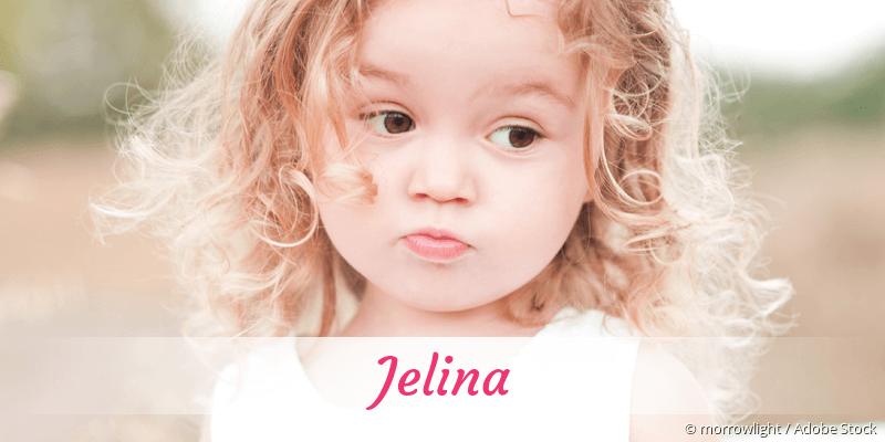 Name Jelina als Bild