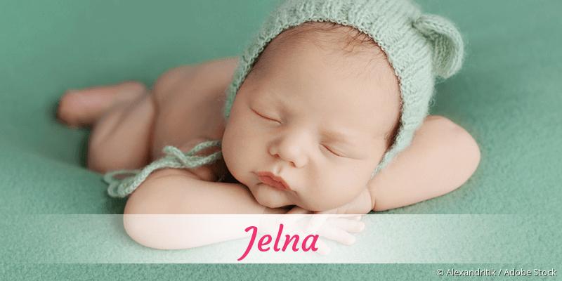 Name Jelna als Bild