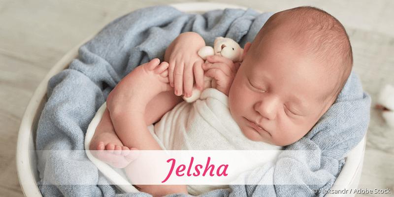 Name Jelsha als Bild