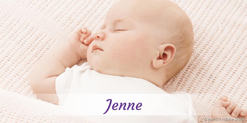Name Jenne als Bild