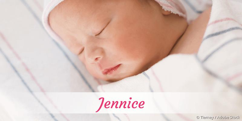 Name Jennice als Bild
