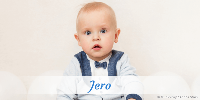 Name Jero als Bild
