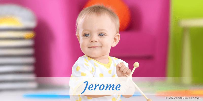 Name Jerome als Bild