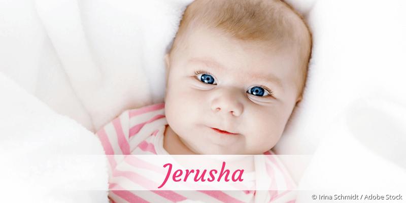 Name Jerusha als Bild