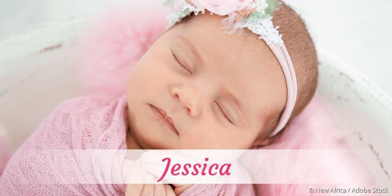 Name Jessica als Bild