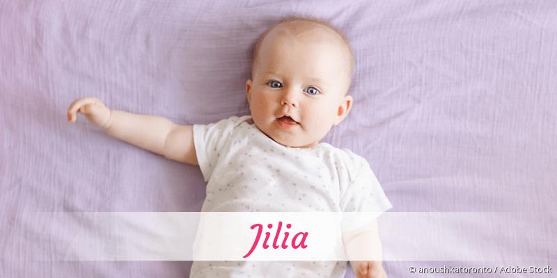 Name Jilia als Bild