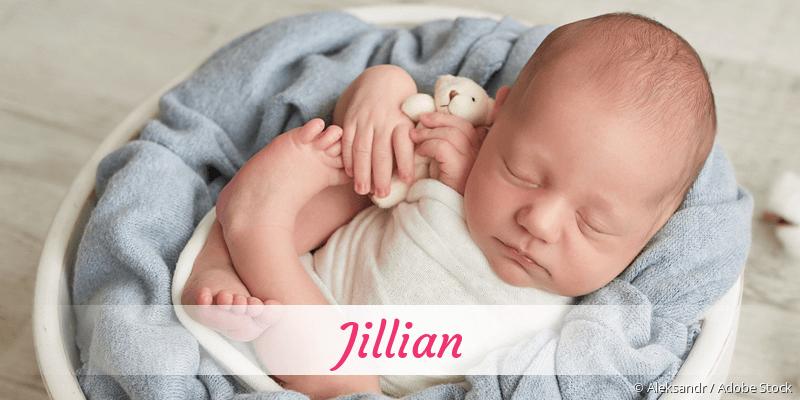 Name Jillian als Bild