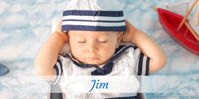 Name Jim als Bild