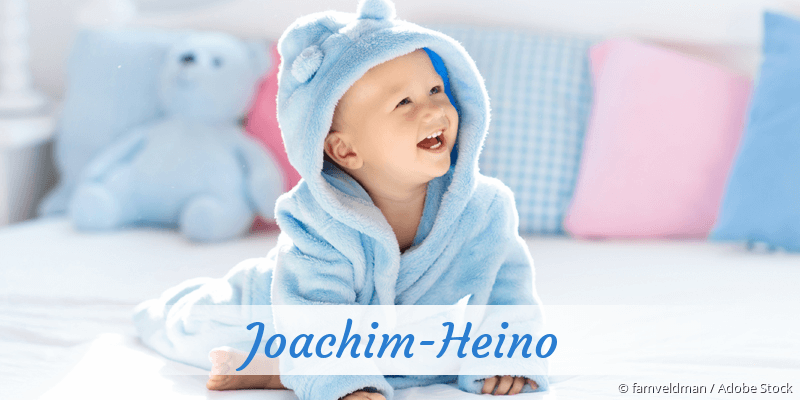 Name Joachim-Heino als Bild